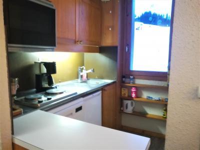 Location au ski Appartement 2 pièces 5 personnes (019) - Résidence le Pierrafort - Valmorel - Kitchenette