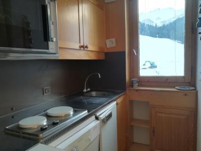 Location au ski Appartement 2 pièces 5 personnes (041) - Résidence le Pierrafort - Valmorel - Kitchenette
