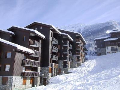 Location au ski Studio 3 personnes (008) - Residence Le Pierrafort - Valmorel - Extérieur hiver