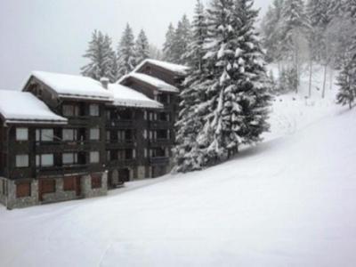 Location au ski Studio 4 personnes (051) - Résidence le Pierrer - Valmorel - Extérieur hiver