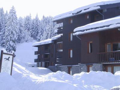 Location au ski Résidence le Pierrer - Valmorel - Extérieur hiver
