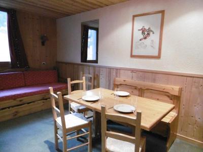 Location au ski Studio 4 personnes (063) - Résidence le Portail - Valmorel - Coin repas