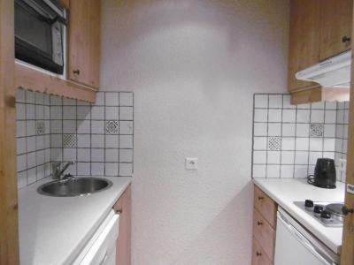 Location au ski Studio 4 personnes (063) - Résidence le Portail - Valmorel - Kitchenette