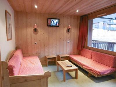 Location au ski Studio 4 personnes (063) - Résidence le Portail - Valmorel - Séjour