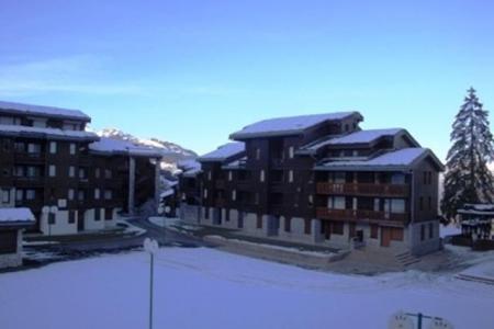 Location au ski Studio 4 personnes (031) - Résidence le Prariond - Valmorel - Extérieur hiver
