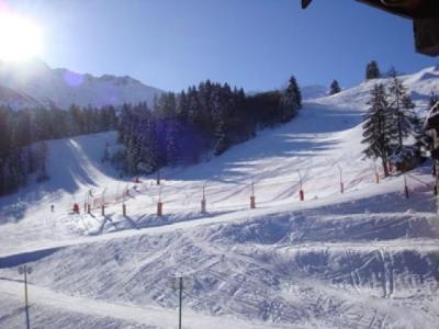 Location au ski Appartement 2 pièces 4 personnes (047) - Résidence le Riondet - Valmorel - Extérieur hiver