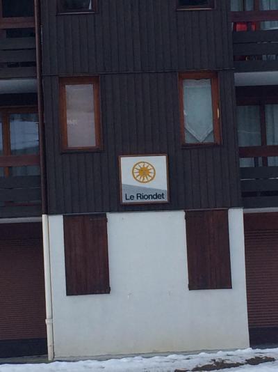 Location au ski Appartement 2 pièces 5 personnes (024) - Résidence le Riondet - Valmorel - Extérieur hiver