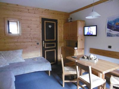 Location au ski Appartement 2 pièces 4 personnes (047) - Résidence le Riondet - Valmorel - Séjour