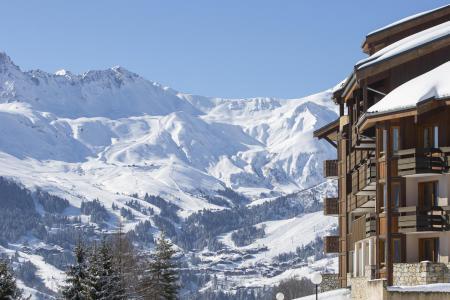 Location au ski Résidence le Sappey - Valmorel - Extérieur hiver