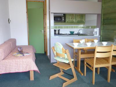 Alquiler al esquí Apartamento 2 piezas para 5 personas - Résidence le Sappey - Valmorel - Estancia