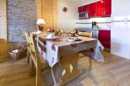 Alquiler al esquí Apartamento dúplex 4 piezas 8 personas - Résidence le Sappey - Valmorel - Kitchenette