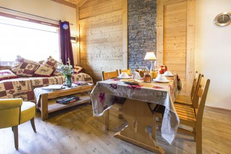 Alquiler al esquí Apartamento dúplex 4 piezas 8 personas - Résidence le Sappey - Valmorel - Mesa