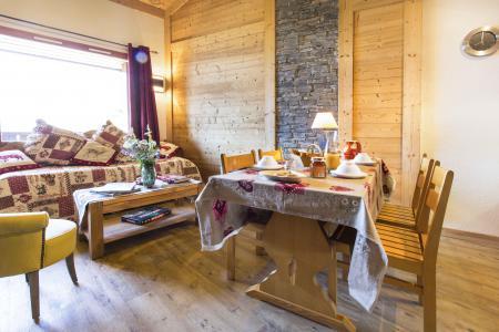 Location au ski Appartement duplex 4 pièces 8 personnes - Résidence le Sappey - Valmorel - Table