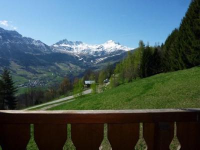 Location au ski Appartement 3 pièces 6 personnes (2P6-S24) - Residence Le Sappey - Valmorel - Extérieur hiver