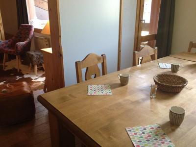 Location au ski Appartement duplex 4 pièces 10 personnes (040T) - Résidence les Côtes - Valmorel - Table