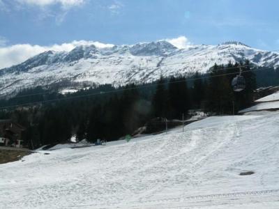 Location au ski Appartement 2 pièces 6 personnes (040) - Résidence les Lauzes - Valmorel - Extérieur hiver