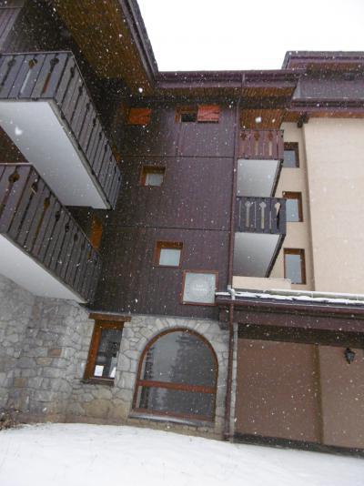 Location au ski Appartement 2 pièces 5 personnes (010) - Résidence les Lauzes - Valmorel - Extérieur hiver