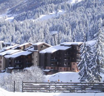 Location au ski Résidence les Lauzes - Valmorel - Extérieur hiver