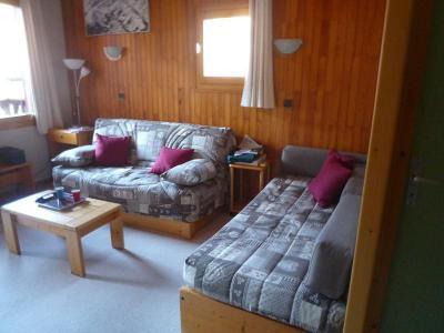 Location au ski Appartement 3 pièces 6 personnes (023) - Résidence les Lauzes - Valmorel - Banquette-lit