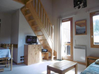 Location au ski Appartement 3 pièces 6 personnes (023) - Résidence les Lauzes - Valmorel - Escalier