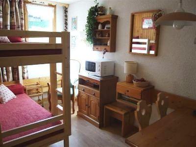 Location au ski Studio 4 personnes (041) - Residence Les Pierres Plates
