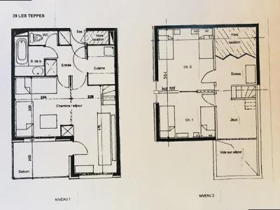Location au ski Appartement 2 pièces 6 personnes (002) - Résidence les Teppes - Valmorel