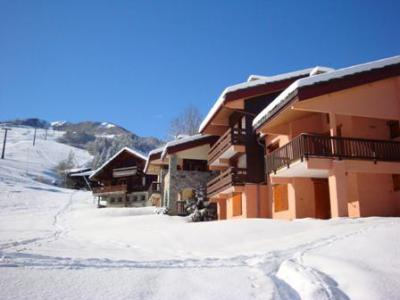 Location au ski Résidence les Teppes - Valmorel - Extérieur hiver