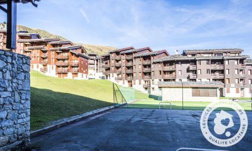 Vacances en montagne Studio 4 personnes (Sélection 28m²) - Résidence Planchamp et Mottet - Maeva Home - Valmorel - Extérieur hiver