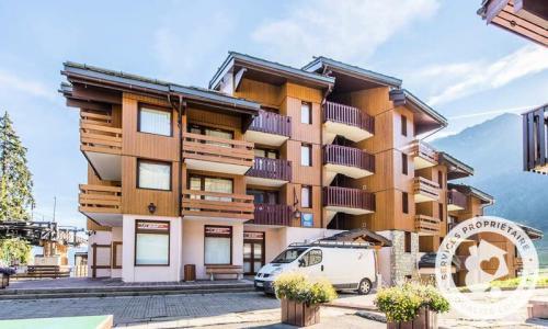 Vacances en montagne Studio 4 personnes (Sélection 28m²-2) - Résidence Planchamp et Mottet - Maeva Home - Valmorel - Extérieur hiver