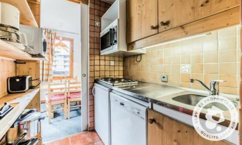 Vacances en montagne Appartement 2 pièces 5 personnes (Sélection 35m²-2) - Résidence Planchamp et Mottet - Maeva Home - Valmorel - Extérieur hiver