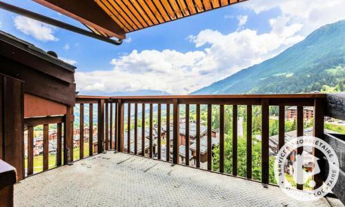 Vacances en montagne Studio 2 personnes (Confort 18m²-3) - Résidence Planchamp et Mottet - Maeva Home - Valmorel - Extérieur hiver