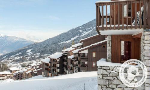 Vacances en montagne Résidence Planchamp et Mottet - Maeva Home - Valmorel - Extérieur hiver