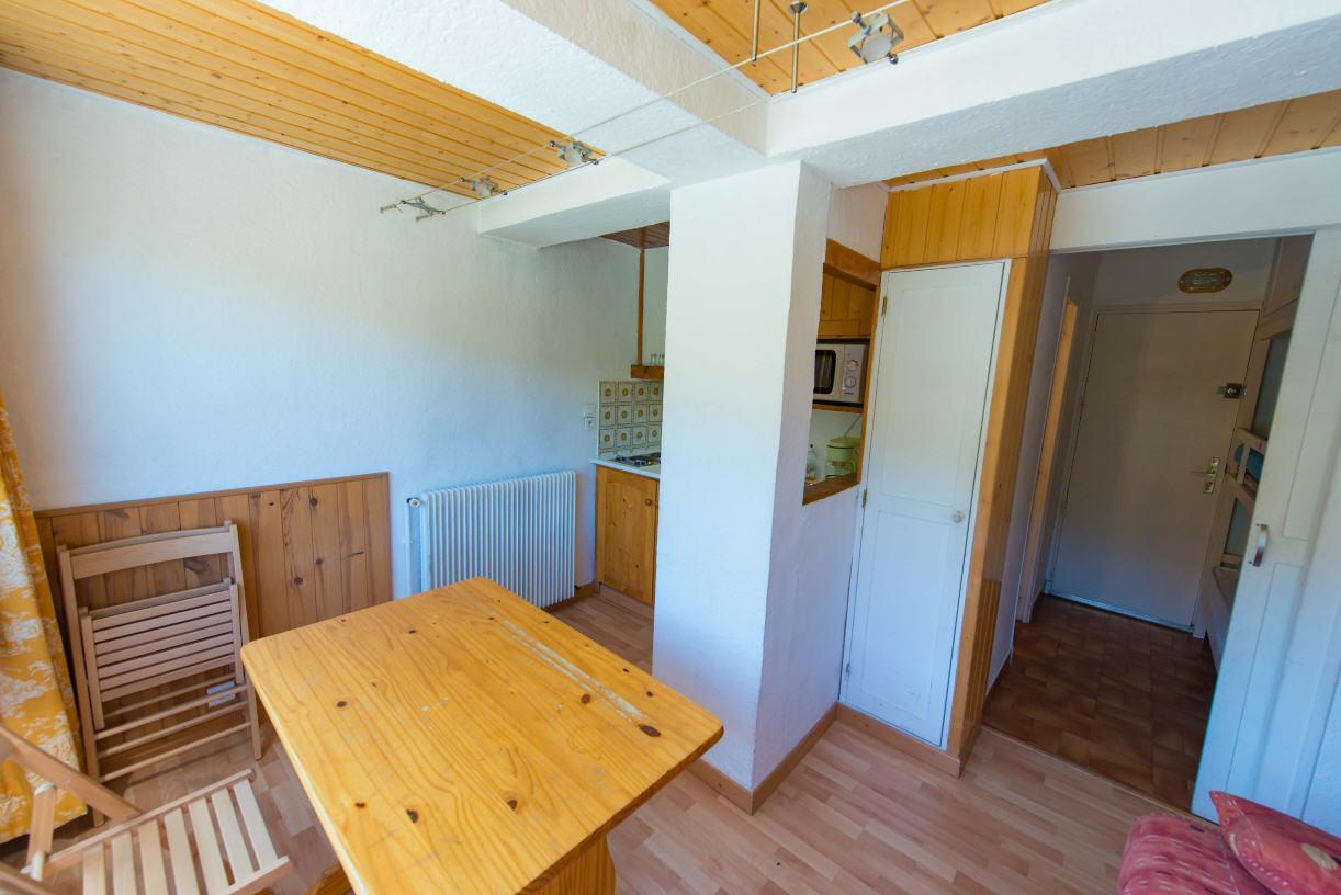 Location au ski Studio 3 personnes (108) - Residence Centre Vars - Vars