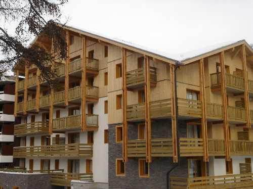 Location au ski Residence L'ecrin Des Neiges - Vars - Extérieur hiver