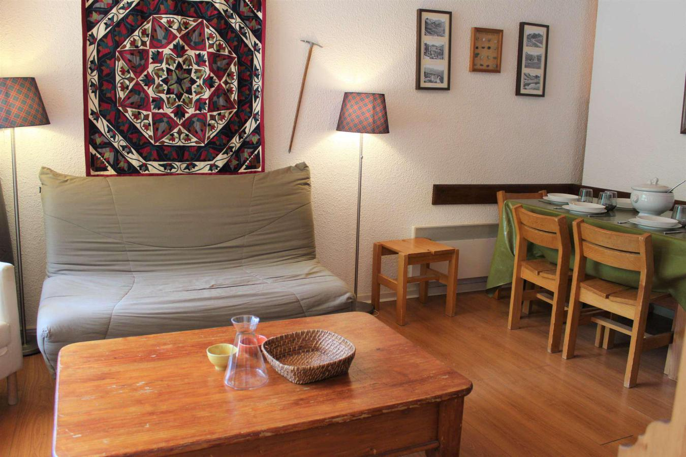 Location au ski Appartement 2 pièces cabine 6 personnes (407) - Residence Le Chambeyron - Vars