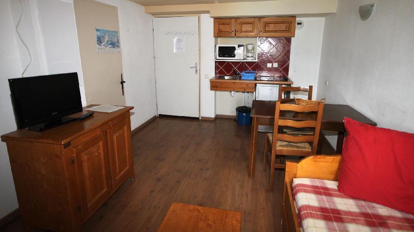 Location au ski Studio coin montagne 2-4 personnes - Residence Les Myrtilles - Vars - Appartement