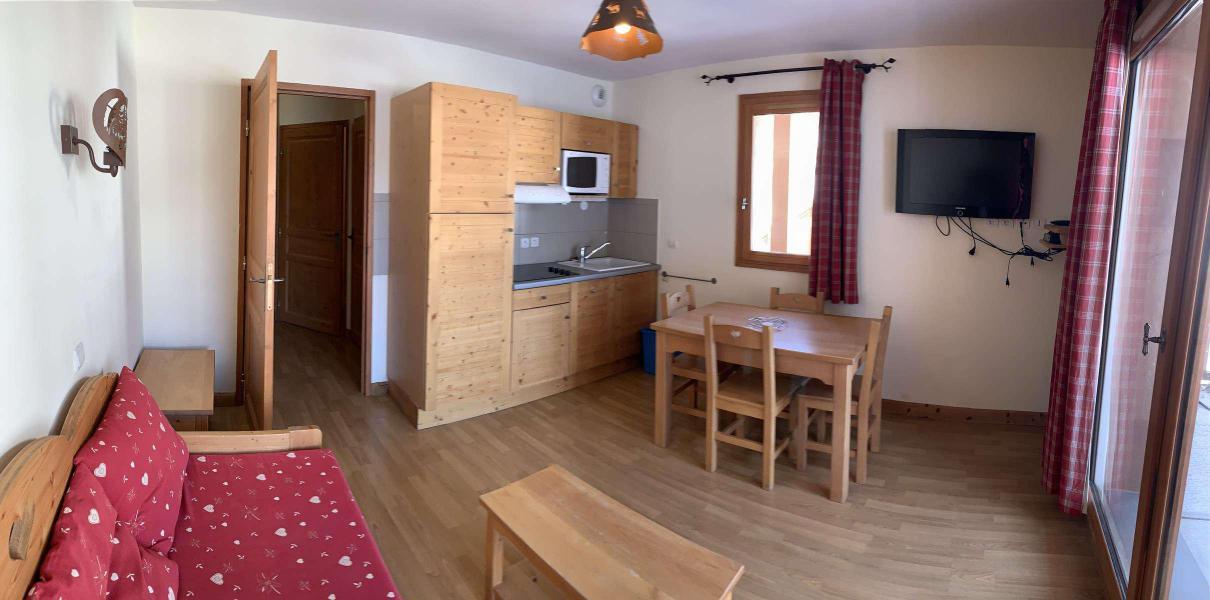 Location au ski Appartement 2 pièces 4 personnes (83) - Chalets des Rennes - Vars - Kitchenette