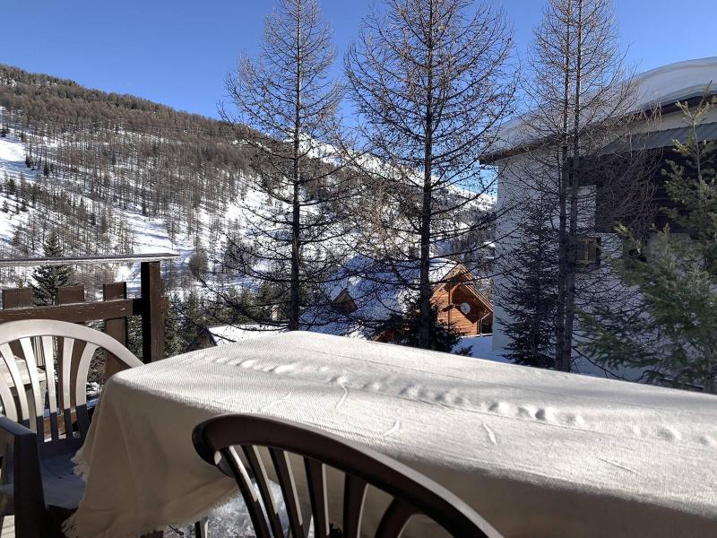 Wakacje w górach Apartament 2 pokojowy z alkową 6 osób (289) - Résidence Clos de Saluces - Vars - Zima na zewnątrz