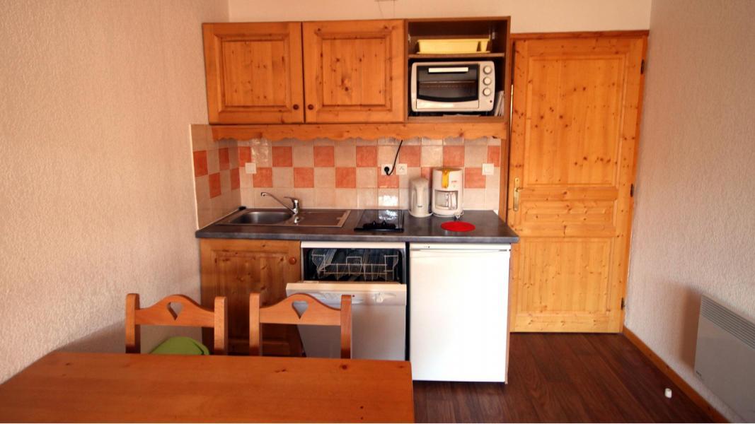 Skiverleih 2-Zimmer-Appartment für 4 Personen (U002) - Résidence Ecrin des Neiges - Vars - Küche