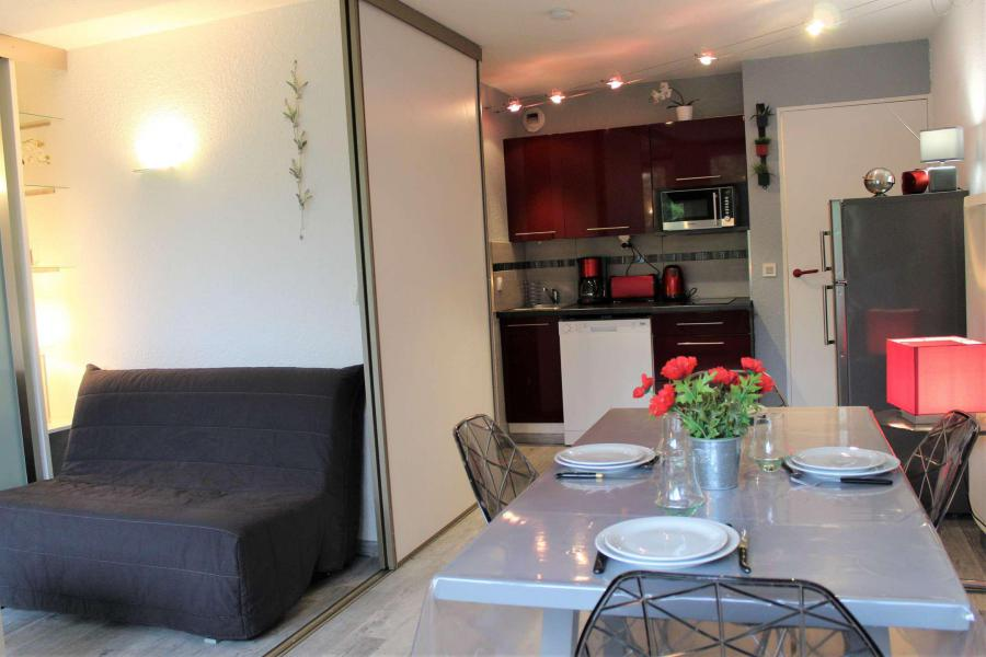 Rent in ski resort Studio cabin 4 people (888) - Résidence l'Eyssina - Vars - Kitchenette