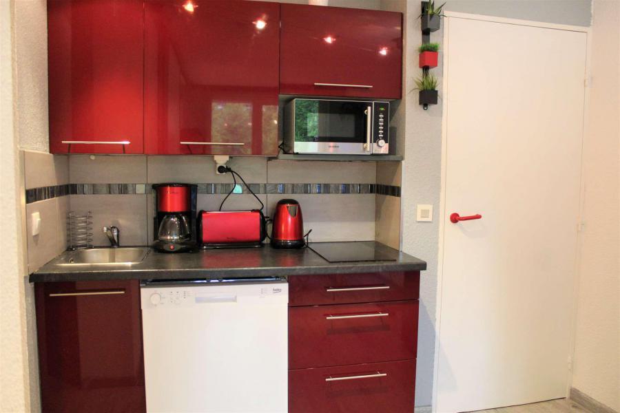 Rent in ski resort Studio cabin 4 people (888) - Résidence l'Eyssina - Vars - Open-plan kitchen