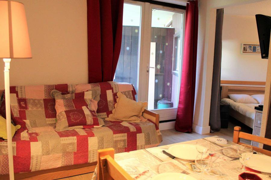 Rent in ski resort Studio cabin 6 people (670) - Résidence l'Eyssina - Vars - Bunk beds