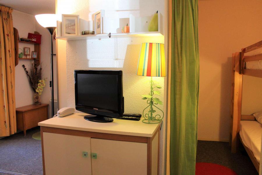 Location au ski Studio cabine 4 personnes (438) - Résidence l'Eyssina - Vars - Salle de bains