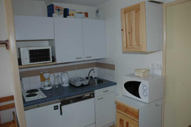 Location au ski Studio coin montagne 4 personnes (659) - Residence L'eyssina - Vars - Kitchenette