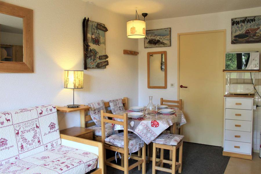 Rent in ski resort Studio sleeping corner 4 people (548) - Résidence l'Eyssina - Vars - Living room