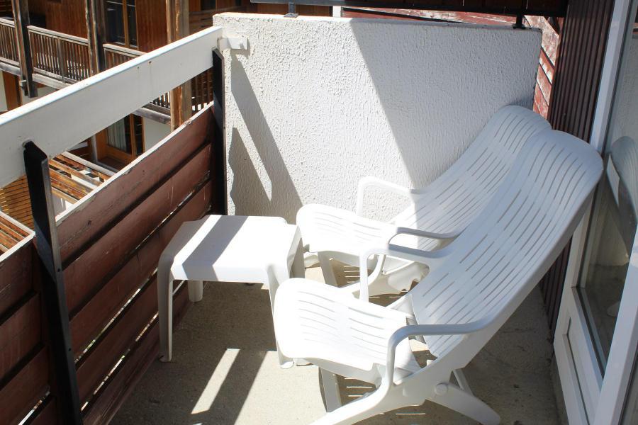 Rent in ski resort Studio sleeping corner 4 people (887) - Résidence l'Eyssina - Vars - Balcony