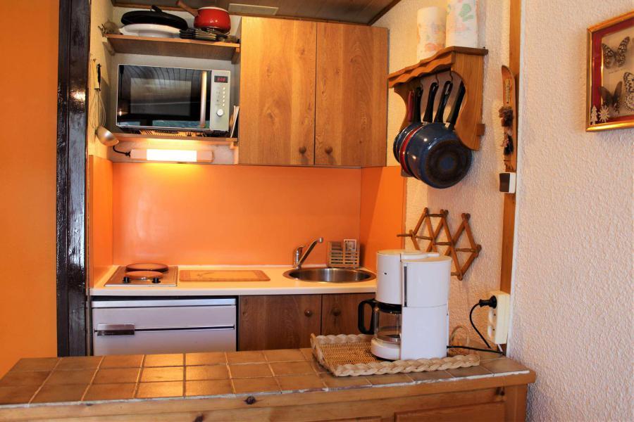 Аренда на лыжном курорте Квартира студия со спальней для 4 чел. (308) - Résidence Lauzet - Vars