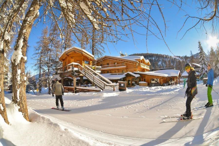 Wakacje w górach Apartament 3 pokojowy 6 osób (244) - Résidence le Bal des Neiges - Vars - Zima na zewnątrz