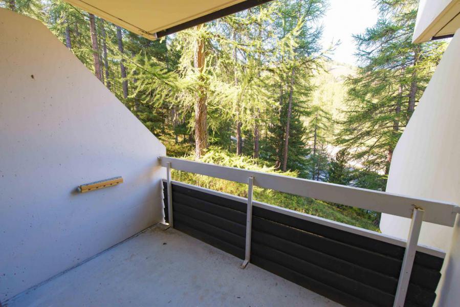 Location au ski Studio coin montagne 4 personnes (508) - Residence Le Chambeyron - Vars - Balcon