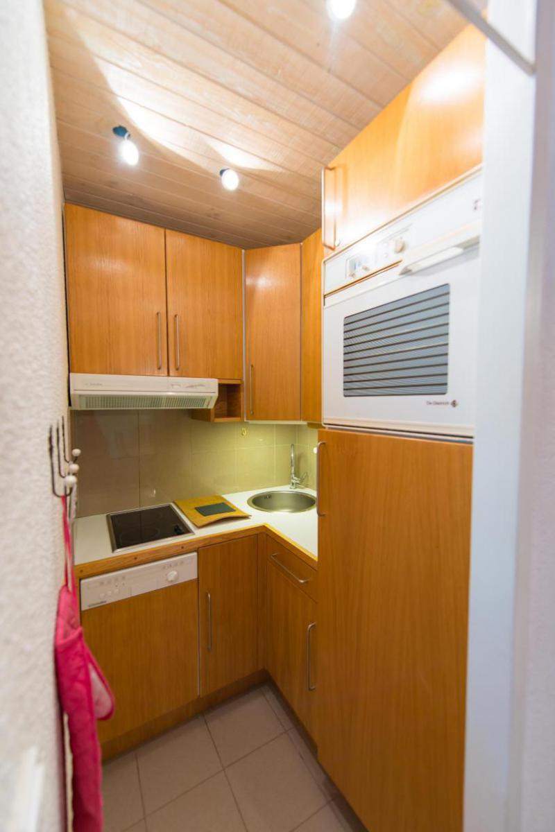 Location au ski Studio coin montagne 4 personnes (508) - Residence Le Chambeyron - Vars - Kitchenette